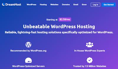 dreamhost wordpress hosting review